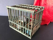 Old French Hand Made Wooden Bird Cage  …Circa early 1900's