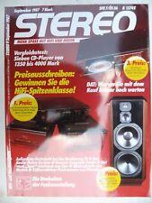 Stéréo 9/87, Grundig DAT 9000, Restek MMA a 5,nad 1300/2600, DENON DAB 5500,poa 660