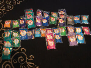 Ty Teenie Beanie Babies McDonalds 1998 1999 Happy Meal Toys Huge Lot Of 38