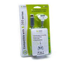 Cavo USB RICARICA Caricabatteria per CONTROLLER Xbox 360 Gamepad Wireless