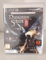 DUNGEON SIEGE 3 LIMITED EDITION NUOVO SIGILLATO PS3  SQUARE ENIX ITALIANO