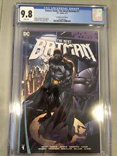 Future State THE NEXT BATMAN #1 CGC 9.8 Ken Lashley Frankies Comics VARIANT NM
