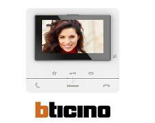 BTICINO VIDEOCITOFONO 2 FILI VIVAVOCE A COLORI CLASSE 100 V16B 344652 NUOVO