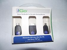 BRAND NEW iGo Power Tip Bundle for Nintendo Ds Lite, Dsi, Dsi XL and Sony PSP!
