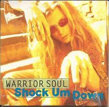 WARRIOR SOUL  Shock Um Down CARD SLEEVE PROMO Radio DJ CD single 1993 SEALED