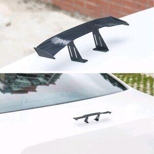 Mini Spoiler Car Truck Rear Tail Decoration Spoiler Wing Carbon Fiber Universal
