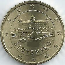 Slowakei 10 Cent Kursmünze (2009 - 2019), unzirkuliert/bankfrisch