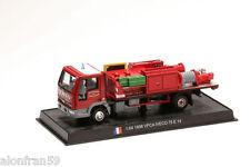 Voiture Pompier Moulé sous pression 1998 VPCA IVECO 75 E14 1:64 Delprado