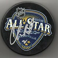 Cory Schneider signed New Jersey Devils 2016 NHL All Star Game Puck w/Free Cube