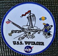 VOYAGER- NASA JPL MISSION - SPACE EXPLORATION PATCH - 3.5""