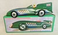 Boxed St John Tin Toy British Record Racer Wind Up Gift For Him