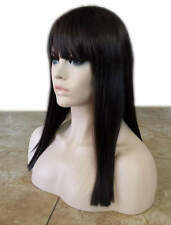 Forever Young Straight Edgy Wig (Color Cappuccino) Straight Bangs Blunt Cut