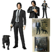Mafex 085 John Wick Chapter 2 Action Figure 16cm In Box Kid Christmas Gift Toy