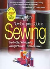The New Complete Guide to Sewing: Step-By-Step , Reader's-,