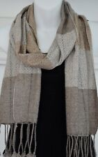 Cashmere Scarf Shawl Pashmina Soft Wool Winter Warm Wrap 165x30cm Nepal EU3002