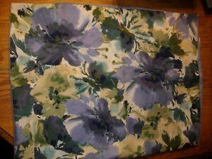 Martha Stewart Standard Diamond Stitch Pillow Shams--2 purple/blue