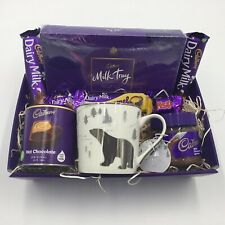 Cadbury Chocolate Lover's Christmas Gift Hamper Idea Basket Husband Wife Mum Dad