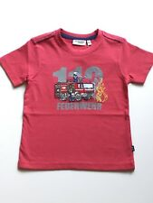 Salt & Pepper T Shirt Feuerwehr 112 NEU  92/98, 104, 116, 128 rot