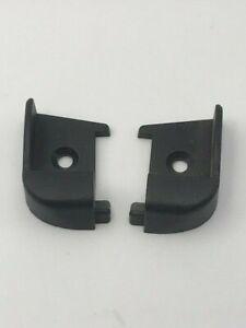 Caravan / Motorhome - Polyplastic - Black Hinge Bar End Caps - 9008380000