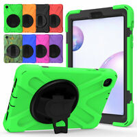 For Samsung Galaxy Tab S A 10.1 8.0 10.5 8.4 9.7 Strap Stand Tablet Case Cover