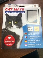 Petmate 4 Way Locking Cat Flap 309w