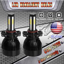 H16 5202 PS24W 4 Sides LED Fog Lights 6000K White Bulb for Ford Escape 2007-2012