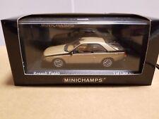 MINICHAMPS  400 113521  RENAULT  FUEGO 1983  GOLD METALIC 1/43