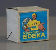 10 alte Edeka Streichholzschachteln Zündwaren Streichhölzer  70er Jahre in OVP