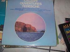"LP 12"" CELEBRI OUVERTURES TEDESCHE HALLE' ORCH. SIR JOHN BARBIROLLI MINT"