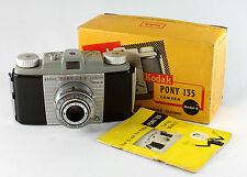 Kodak Pony 135, Model B, Anaston 4.5/51mm, Kodak Flash 200 Outfit in orig. box
