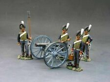 King & Country NA098 Napoleonic Wars British Royal Horse Artillery Gun & Crew