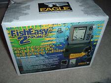 NEW!  Eagle FishEasy 2 Portable Fish Finder Fishing Locator  w/ Box  (COMPLETE)