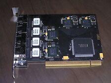 Beckhoff FC9004 HW:03 TwinCAT Ethernet TCP/IP 4-channel PCI card excellent