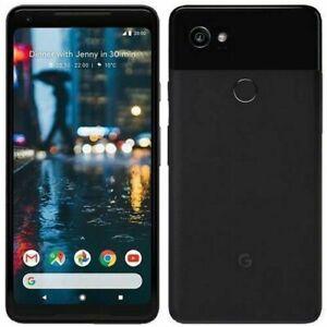 Neuf Google Pixel 2 XL - 128 Go - Juste Noir - Débloqué Sans SIM Smartphone