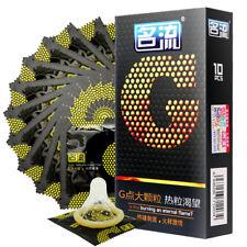 MingLiu 10pcs Big pot Condom Natural Rubber Super Thin Lubricated Male Condom