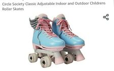 Circle society classic adjustable indoor outdoor children's roller skates