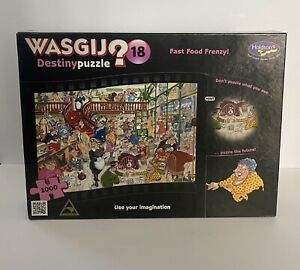 wasgij jigsaw puzzle Fast Food Frenzy 1000 Piece