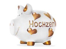 Hochzeit Sparschwein XXL Spardose 32 cm Motiv Money Monster Bank Keramik