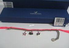 Swarovski Hello Kitty Neon Bracelet, Star Cat face Crystal Authentic MIB 1175767