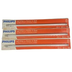 Set of 6 - Phillips BULB FLR T5 21 Inch - 13 Watts Soft White