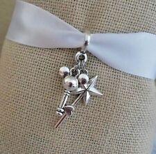 Mickey Mouse Ears Key Star Dangle Charm Pendant  f/European Bracelet Or Clip On