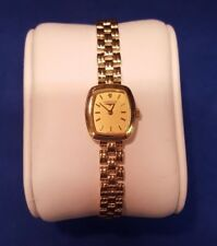 18ct Solid Yellow Gold Ladies Longines Watch