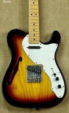 2000 Fender '69 Reissue Telecaster Thinline  3-Tone Sunburst