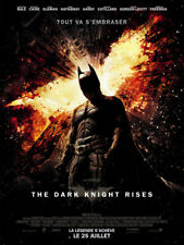 THE DARK KNIGHT RISES Affiche Cinéma 160x120 Movie Poster CHRISTIAN BALE