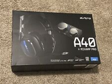 Astro Gaming A40 TR Headset + MixAmp Pro TR for PS4/PC- Black