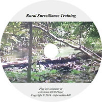 Rural Surveillance Training Film Video DVD Tactics Techniques Guide Camouflage