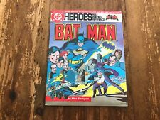 DC SUPER HEROES Role Playing reference guide New 1985 Batman Joker w/ maps