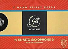 Gonzalez #2.75 Eb Alto Saxophone Reeds (Box of 2 Reeds) BRAND NEW