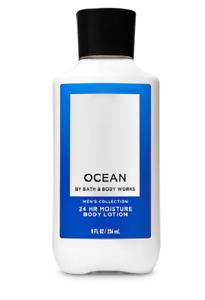 Bath & Body Works Men's Ocean Scented 24 Hour Moisturizing Body Lotion