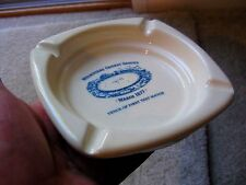 AUSTRALIAN POTTERY BY ELISCHER  ASHTRAY FOR THE MCG